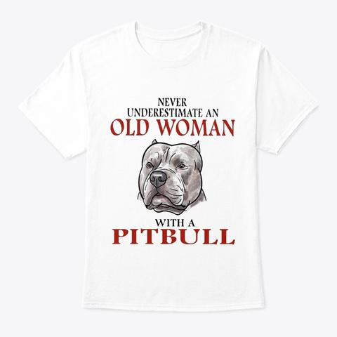 Pitbull 31218 White T-Shirt Front