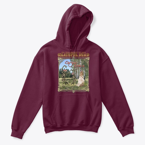Chasing Ophelia Kids & Pets Merch Maroon T-Shirt Front