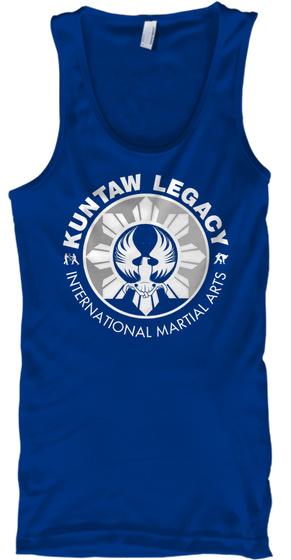 Kuntaw Legacy International Martial Arts True Royal T-Shirt Front