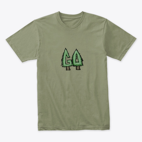Get Out #4 Light Olive T-Shirt Front
