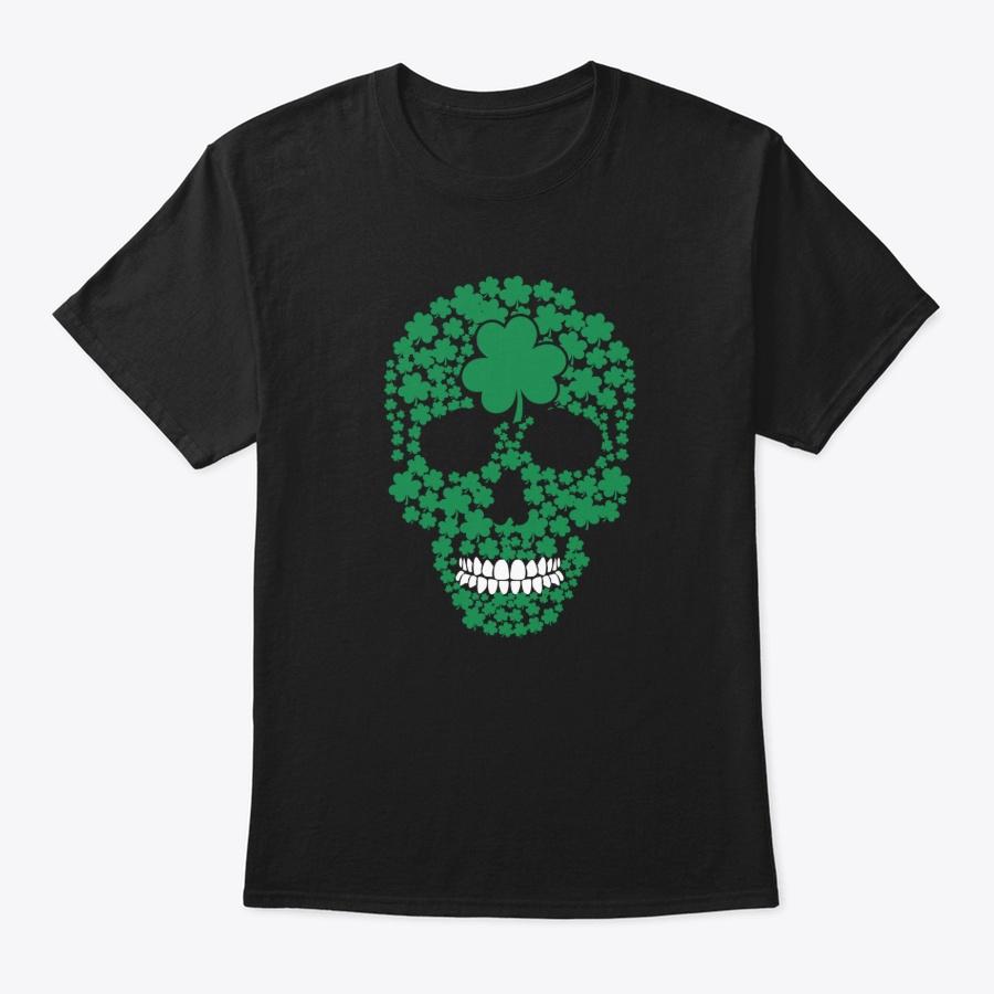 St Patricks Day Shamrocks Skull – Sweatshirt Royal Up To 5XL