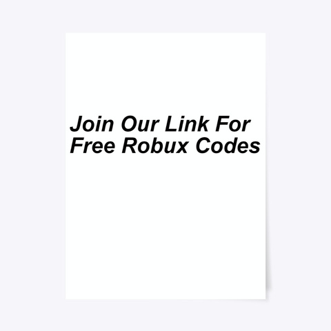 Free Robux Codes Card Free Robux Gift Card Code Generator 2020 Products From Free Robux Generator Teespring