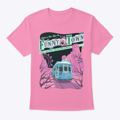 Thomas Ligotti   Town Manager Pink T-Shirt Front
