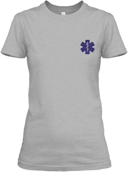 Proud Emt Shirt Sport Grey T-Shirt Front