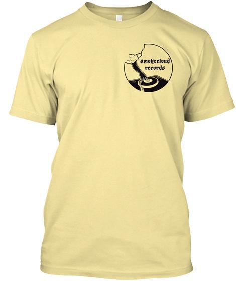 Smoheeloud Rccords Banana Cream T-Shirt Front