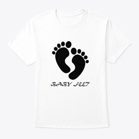 baby feet t shirt