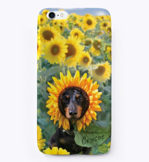 Sunflower Crusoe Case Standard T-Shirt Front