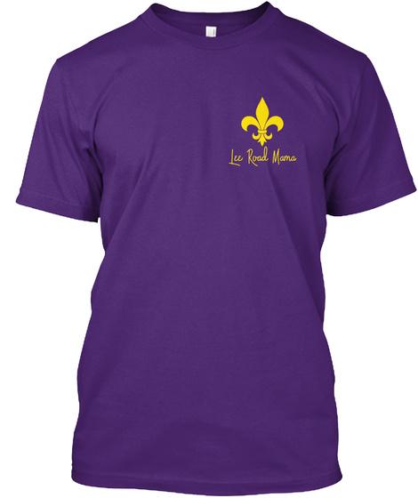 Lee Road Mama Purple T-Shirt Front