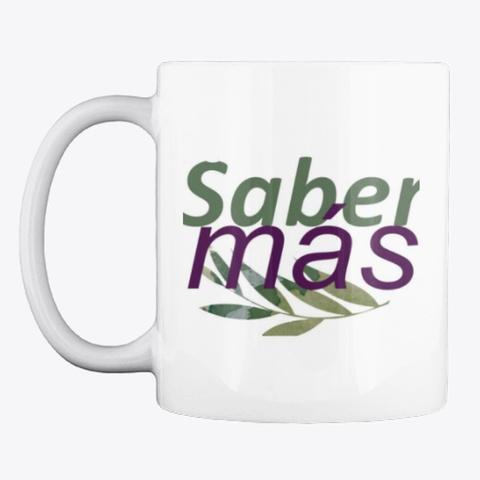 Revista Saber Mas White Camiseta Front