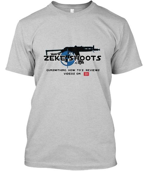 ZEKE SHOOTS merch blue Unisex Tshirt