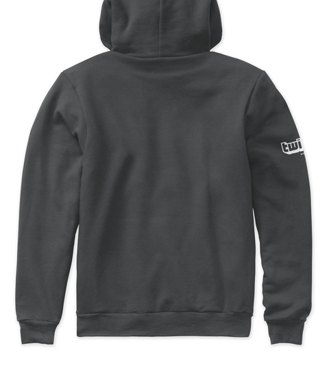 Bibix Officielle Black Heather Sweatshirt Back