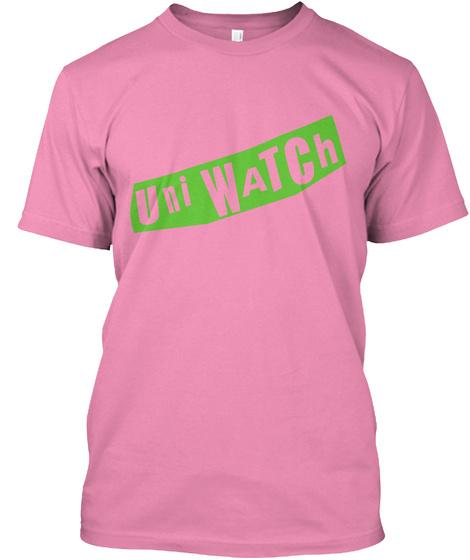 Uni Rock: Bollocks (Pink) Pink T-Shirt Front