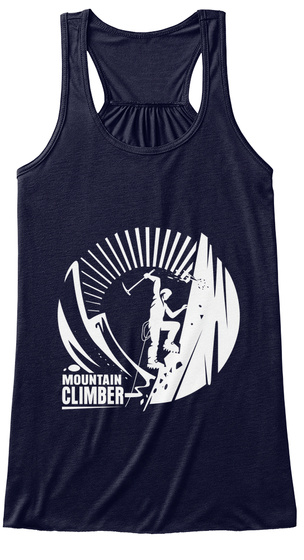 Mountain Climber Midnight T-Shirt Front