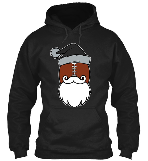 Oaktown Santa Hoodies 🎄🎅🎁$29.99 😳 Black T-Shirt Front