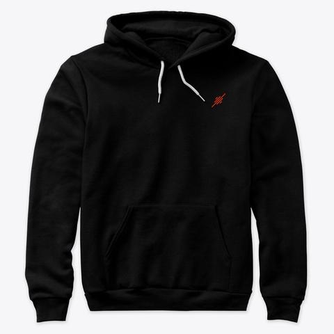 Stream Now Premium Hoodie Black T-Shirt Front