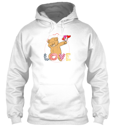 Dabbing Teddy Bear Dab Valentines Day Co – Bear+dabbing t shirt – hoodie