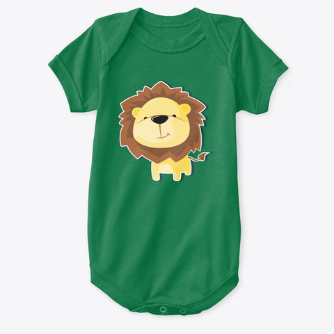 Cute Lion Kelly T-Shirt Front