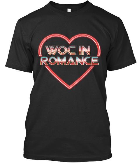 Woc In Romance Black T-Shirt Front