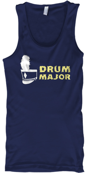 Drum Major Navy T-Shirt Front