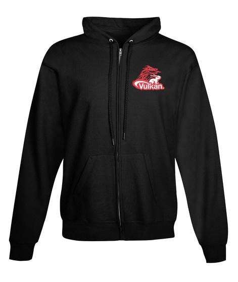 Vulkan Black Sweatshirt Front