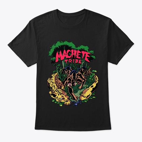 Membre De La Tribu Black T-Shirt Front
