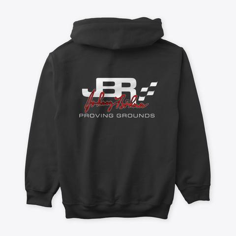 Jbpg Classic Hoodie Black T-Shirt Back