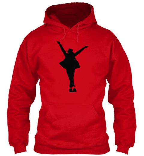 Hoodie Dancer Red T-Shirt Front