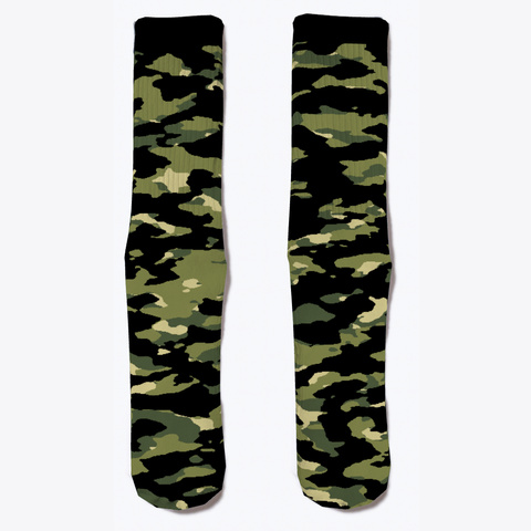Military Camouflage   Jungle Iii Standard T-Shirt Front