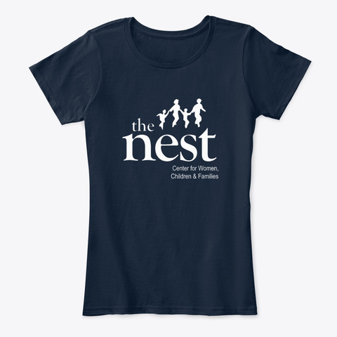 Nest Women New Navy T-Shirt Front