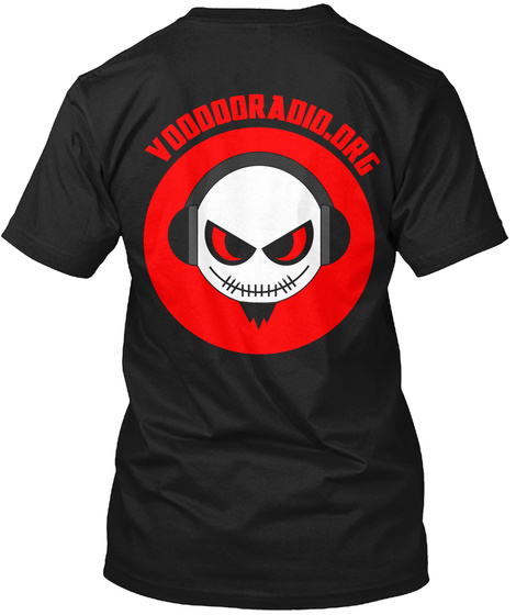 Voo Doo Radio   Join The Horde Black T-Shirt Back