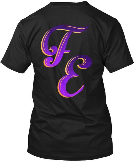 Frantic Endeavor   Peacock Castle Black T-Shirt Back