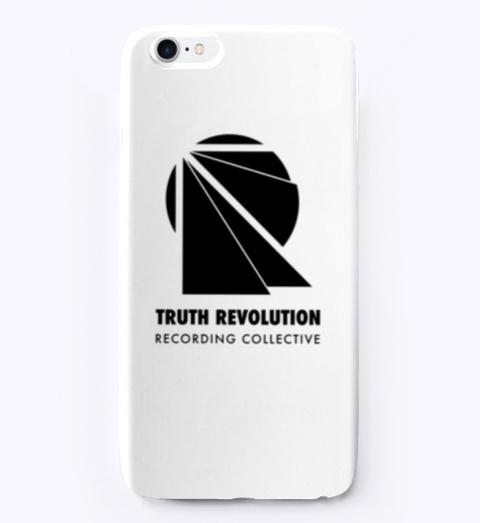 Trrc I Phone Case   White/ Black Standard T-Shirt Front