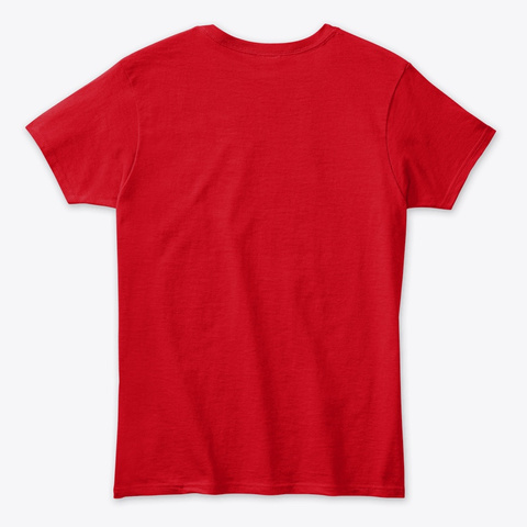 Heavily Meditated Shirt Red T-Shirt Back