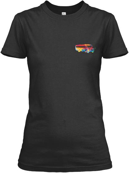 Proud School Bus Driver Shirt Black T-Shirt Front