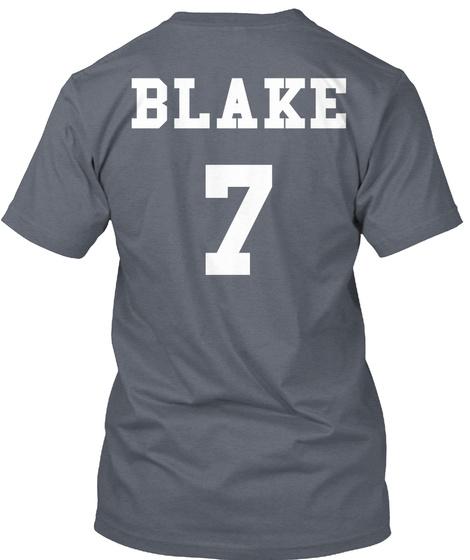 Blake 7 Deep Heather T-Shirt Back