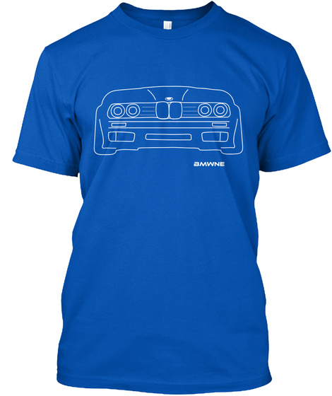 Bmwne Royal T-Shirt Front