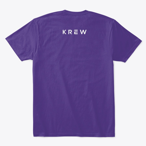 Ender The Wolf Purple T-Shirt Back