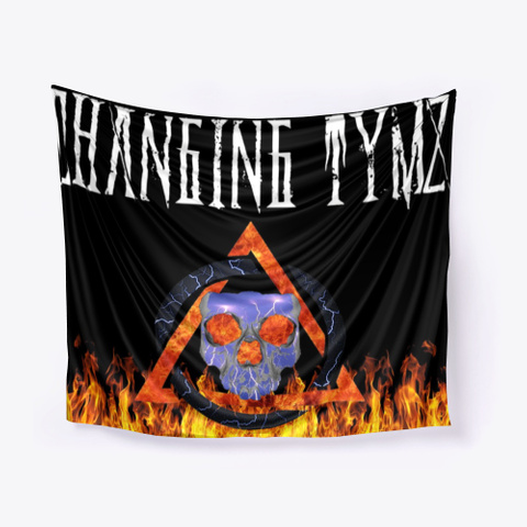 Changing Tymz Custom Tapestry #1 Black T-Shirt Front