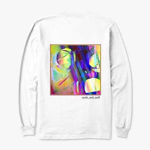 Glow Putt White T-Shirt Back
