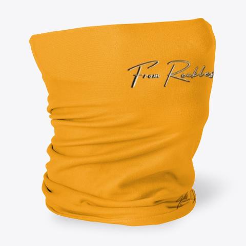 Reckless To Radical Orange T-Shirt Side