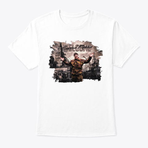 Awesome Old White T-Shirt Front