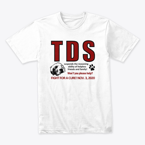 Tds Cure White T-Shirt Front