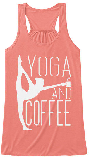 8b77422d326295 Women s Coffee Yoga Tops - yoga and coffee Products from BearDog ...