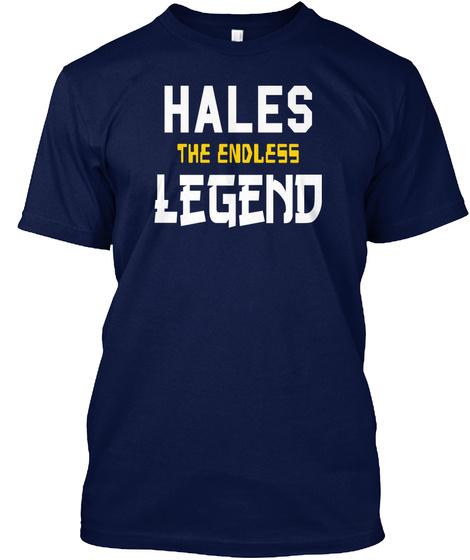 Hales T He Endless Legend Navy T-Shirt Front