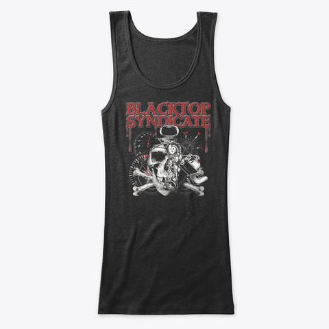 Blower Skull And Crossbones Black T-Shirt Front