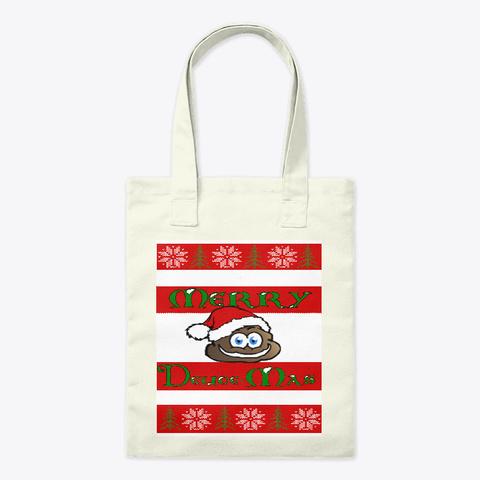 Merry Deuce Mas Bag Natural T-Shirt Front