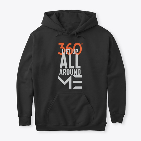 360: Lift Up All Around Me   Qore Black Kaos Front