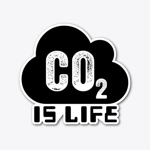 Co2 Is Life Standard T-Shirt Front
