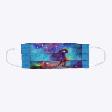 Malnagle Apparel Digital Nebula Denim Blue T-Shirt Flat