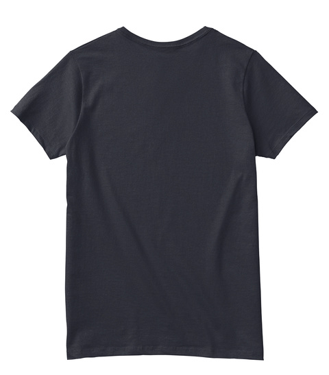 High Resolution Limited Series Tees Navy T-Shirt Back